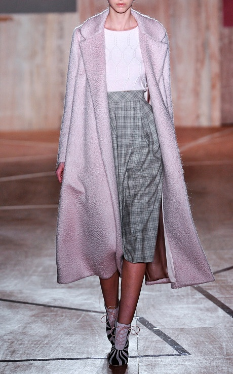 Roksanda Illinic.------Hooray, Another pink winter coat.