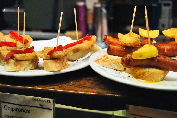 Tapas in Spain. Mmmmm...  Photo: http://christineinspain.com/