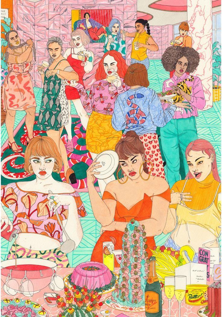 Aspirational - Laura Callaghan Illustration