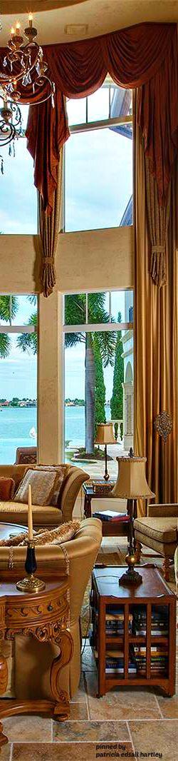 Mediterranean/Tuscan/Old World Decor. Mediterranean Window TreatmentsLuxury  ...