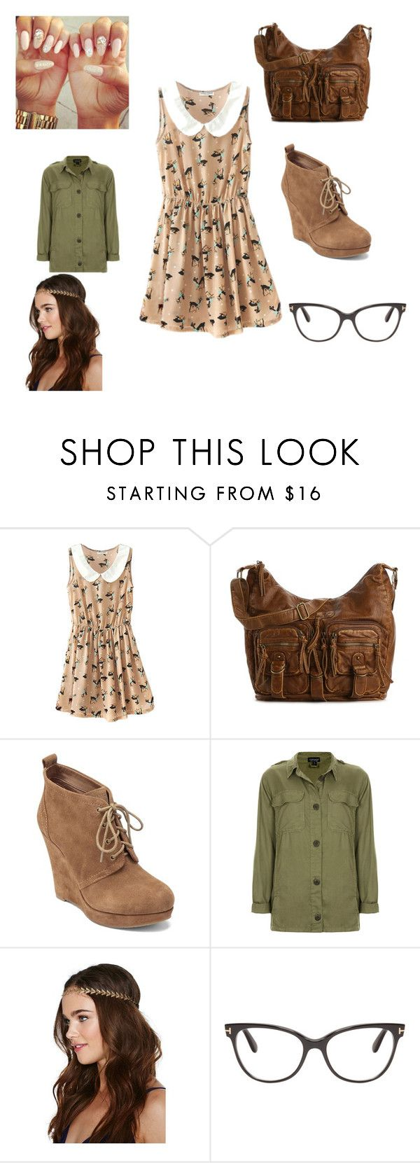 """""""Summa outfit #4"""" by dreamgurl-846 on Polyvore featuring Mix No. 6, Jessica Simpson, Topshop, Berry and Tom Ford"""
