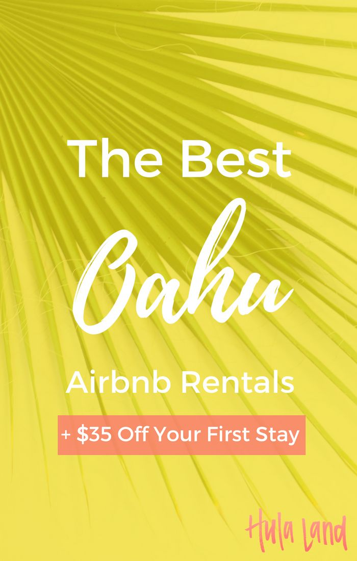 If you're looking for an amazing place to stay on Oahu, check out these great Airbnb rentals in Hawaii!