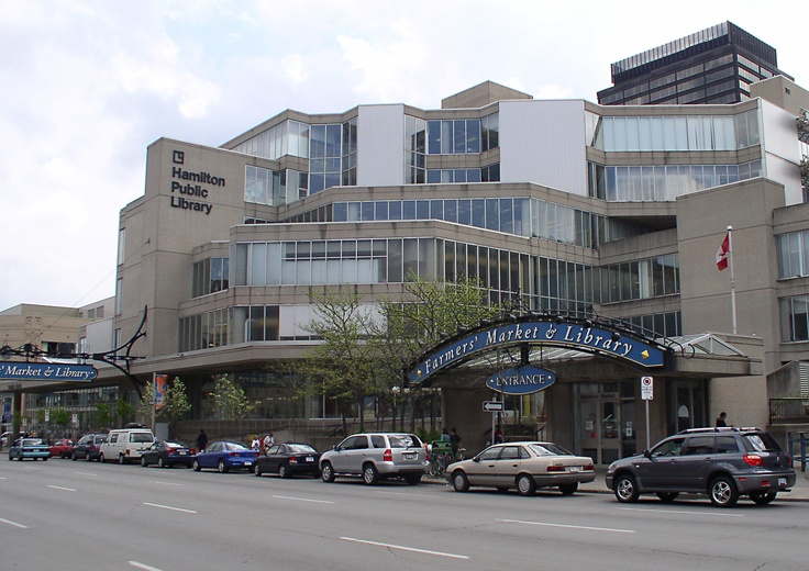 Hamilton Public Library and Farmers' Market