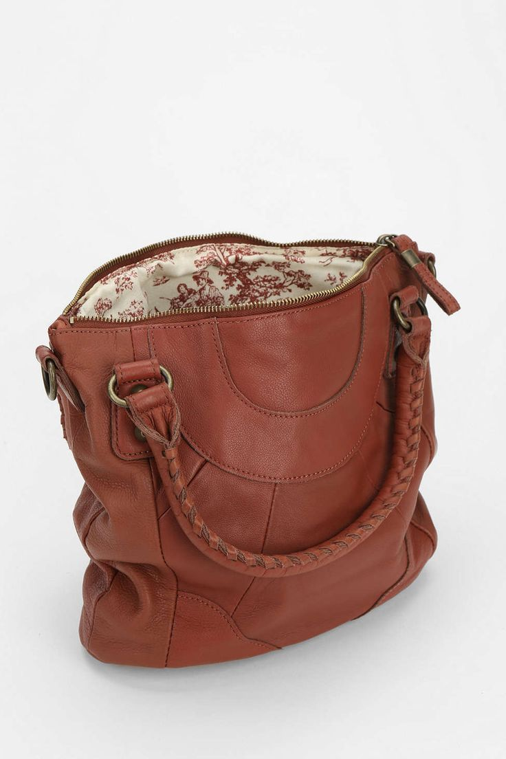 LIEBESKIND Gina E Leather Duffle Bag