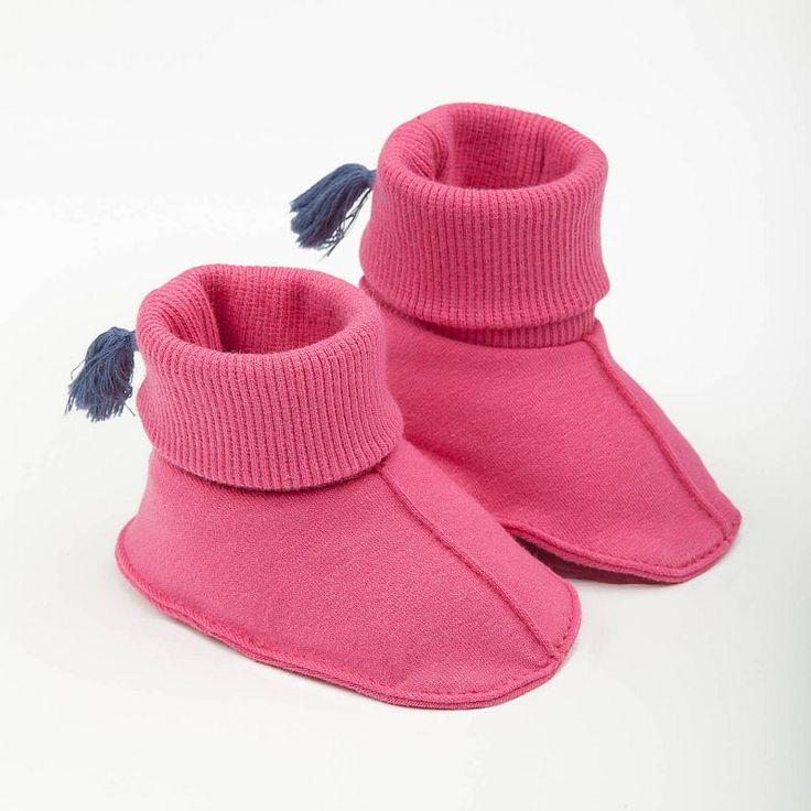 Bavlnené papučky PINOKIO Martinet, ružové - PINOKIO