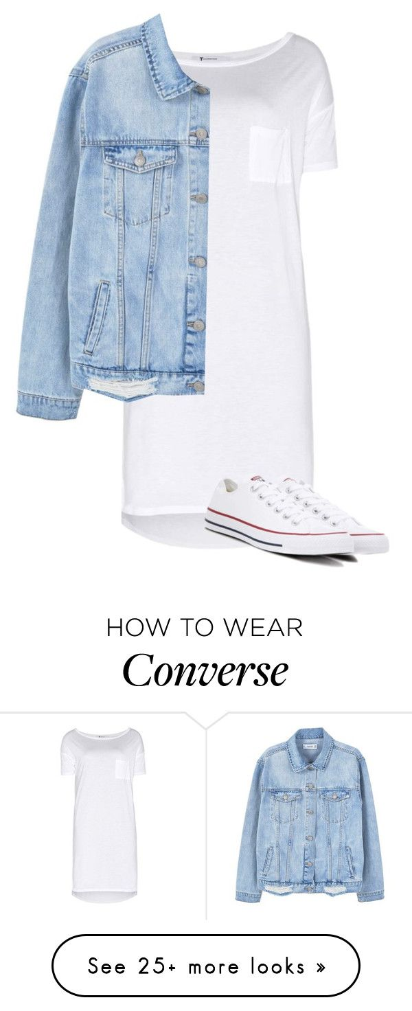 """""""Untitled #169"""" by benediktegrube on Polyvore featuring T By Alexander Wang, MANGO and Converse"""