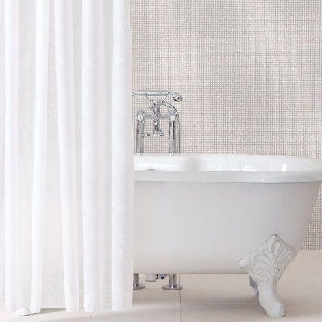 Zara Home Damasco Shower Curtain