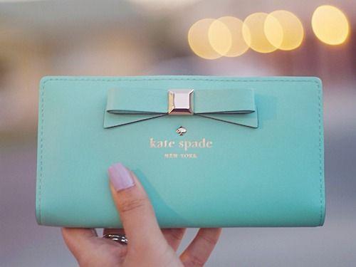 Love my new Kate Spade wallet!