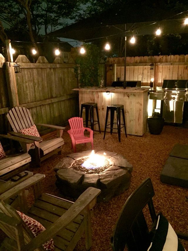 1621 best images about backyard design on pinterest outdoor spaces live and backyard - Types fire pits cozy outdoor spaces ...