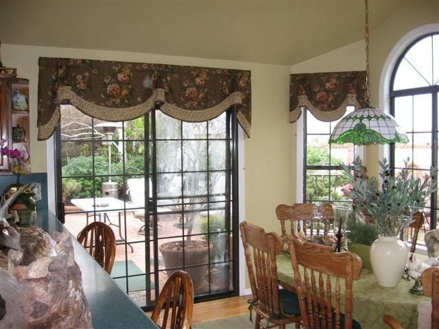 Idea For The Patio Door/window In The Living Room #inspiration