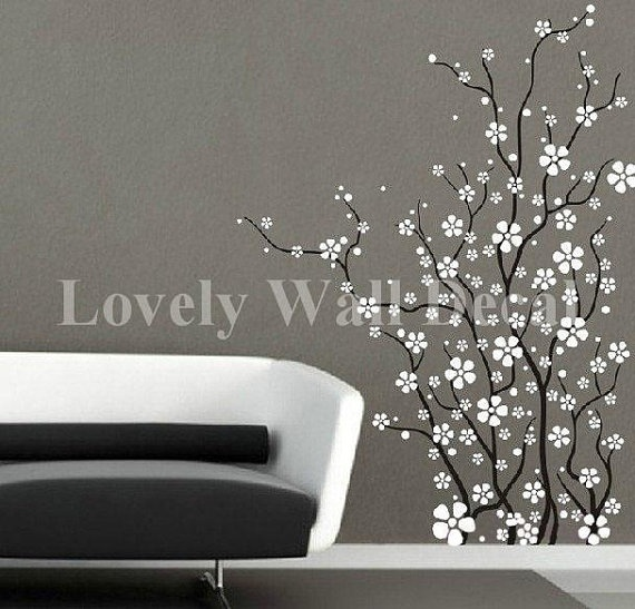 Decal Ideas for the Bathroom: Flowers Wall Decals, Flowers Vinyls, Flower Wall Decals, Vinyls Wall Decals, Decals Vinyls, Wall Stickers, Trees Wall Decals, Vinyl Wall Decals, Vinyls Wall Art
