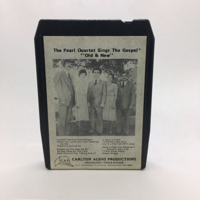 The Pearl Quartet Sings The Gospel Old And New 8 Track Brookhaven Mississippi | eBay