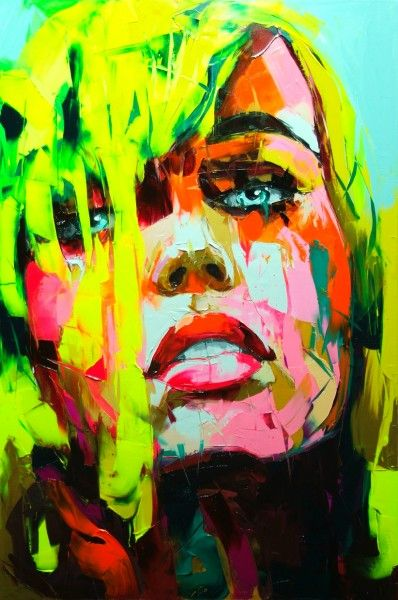 Fancoise Nielly's paintings have such an amazing use of color.
