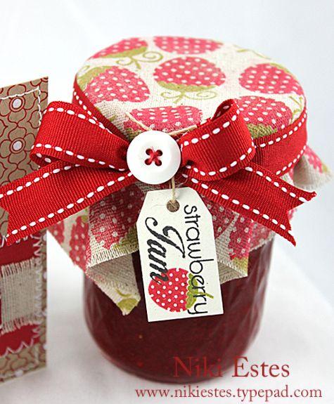 decorating jam jars - Google Search