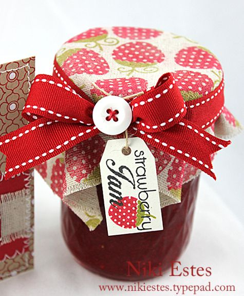 decorating jam jars - Google Search