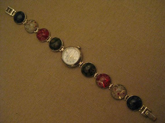 Marcel Drucker Watch 925 Sterling Silver by vtseredipityboutique