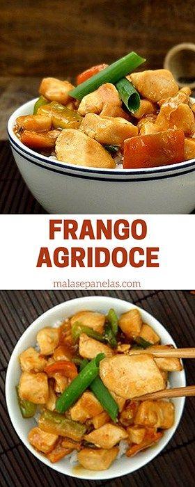 Frango Agridoce | Malas e Panelas