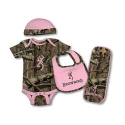 Baby, show us your Buckmark! Browning baby camo set for 9 months