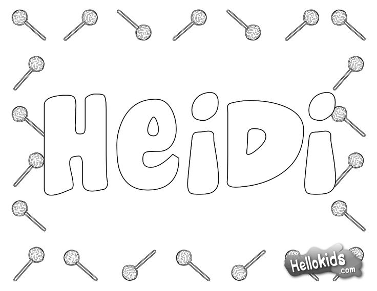 Print My Name Fun Coloring PagesKid