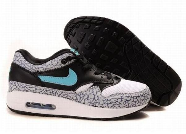 sale retailer f41e9 80199 ... Nous vendons Nike Air Max 1 Homme Atmos Edition Leopard Pack Safari  Noir Blanche Grise Bleu ...
