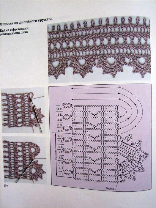 beauty border crochet patterns   make handmade, crochet, craft
