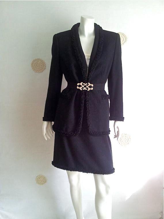 ESCADA vintage '90 tailleur made in Italy misto di SHOPPINGbeGOOD