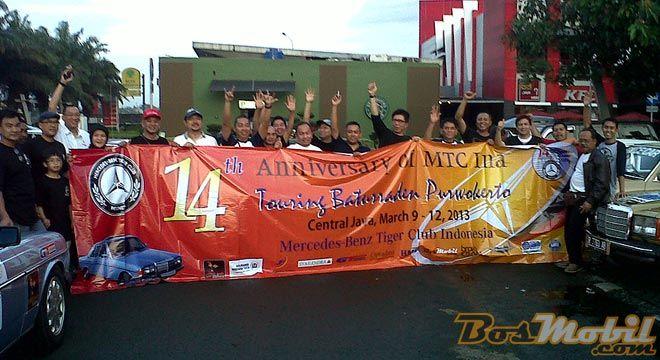 MTC Indonesia : Rayakan Ultah Ke-14 Dengan Touring Ke Baturraden
