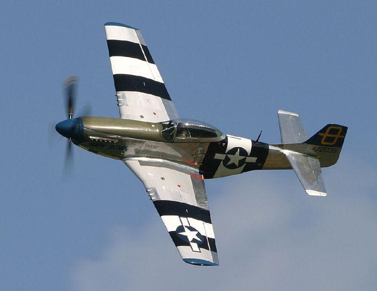 Mustang P 51 D : l' avion de chasse à hélice américain - aviation ...