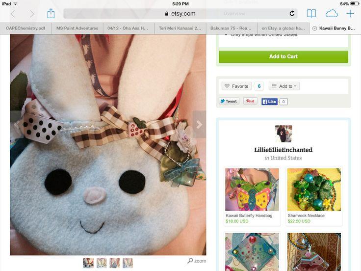 Bunny purse