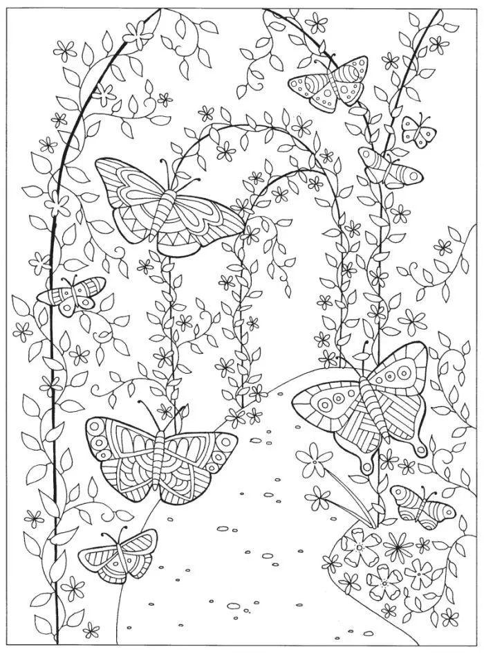 Lizzie Preston Magical Garden Garden Coloring Pages