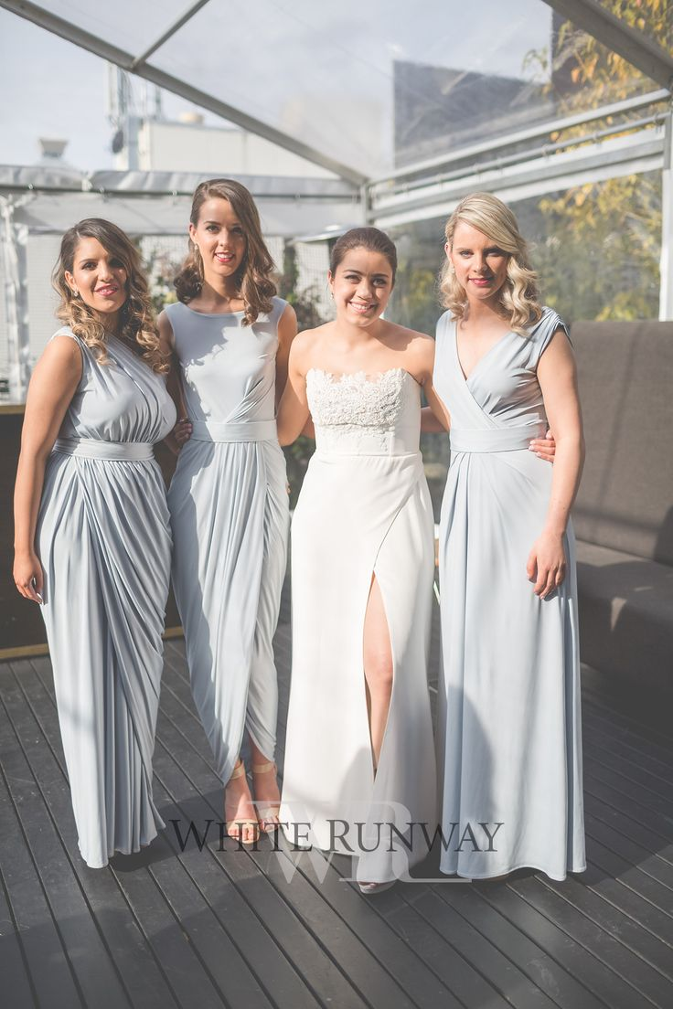 The 25 best ice blue bridesmaid dresses ideas on pinterest our gorgeous bride megan chose three different pia gladys perey styles for her bridesmaids the girls looked stunning in the ingrid haily bessy dresses ombrellifo Images
