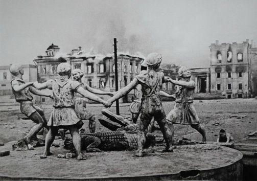 Imágenes de impacto de la Gran Guerra Patria