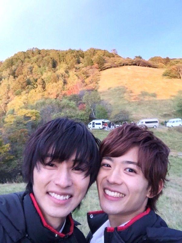 """Kento Yamazaki x Ryo Ryusei   [MV, orange ver, Dec/06/15] https://www.youtube.com/watch?v=nwhkIfS8b6E&feature=youtu.be  Kobukuro -- Mirai (Future), J movie """"orange"""" theme song, Kento Yamazaki x Tao Tsuchiya, 2015"""