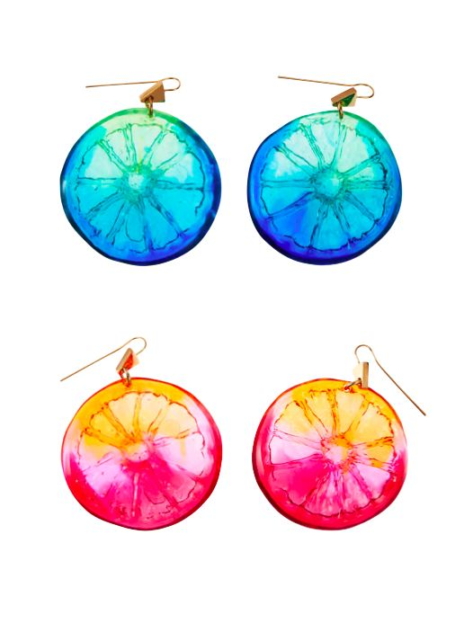 Lucy Folk presents DIP - NH: Spring/Summer 2014 / SH: Autumn/Winter 2014 - COCKTAIL EARRINGS