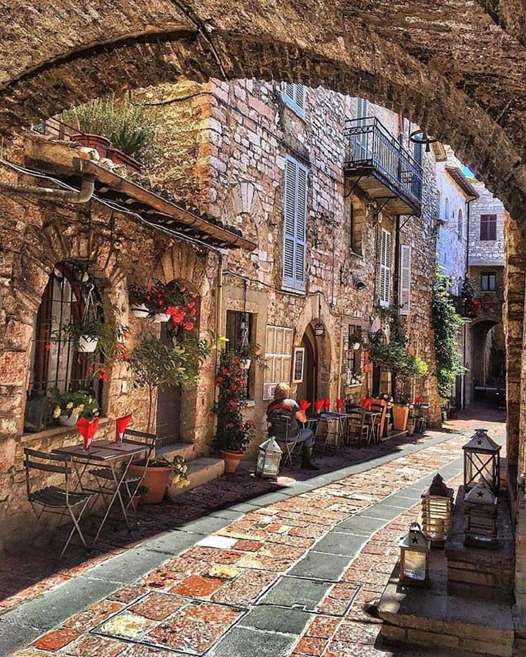 Assisi, Italy Walked in Assisi October 2017.... beautiful spot on Earth!