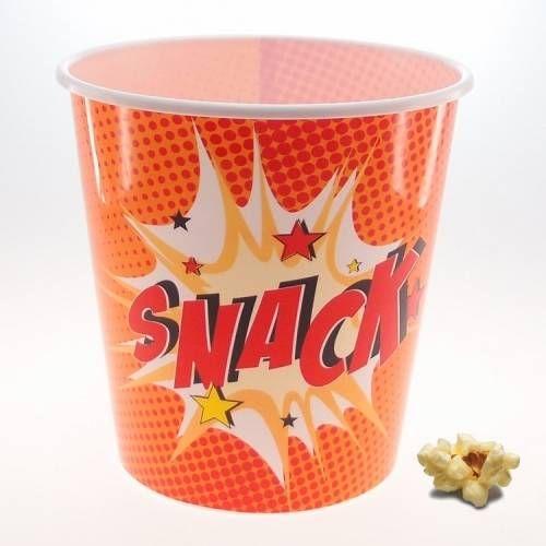 Balde para Pipoca Snack - Pack com 4