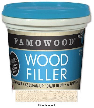 Famowood Latex Wood Filler 24 oz. Case 12 Natural 40022126C