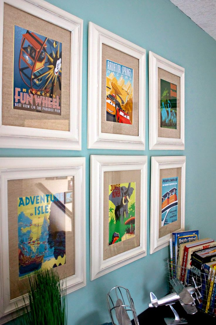 Disney California Adventure Themed Room Disney Posters