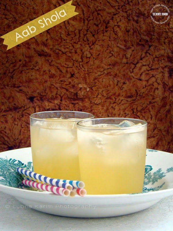 Yummy Food: Aab Shola - Refreshing Summer Drink