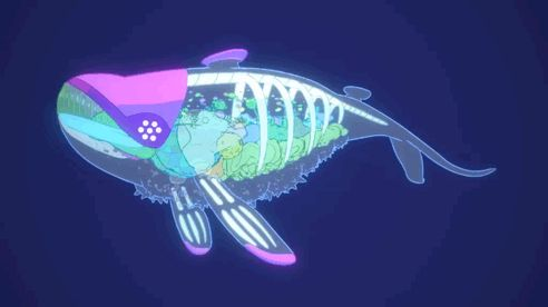 It's a crystal whale, it's a palace, it's a spaceship, it's a magical guts garden. Here is Sidera's Spaceship ! It was the first time I saw such an accurate 3d model based on one of my designs (you can see the research HERE). Joy ! (cg/animation: Michel Pecqueur). Sidera's opening is available on youtube and vimeo !