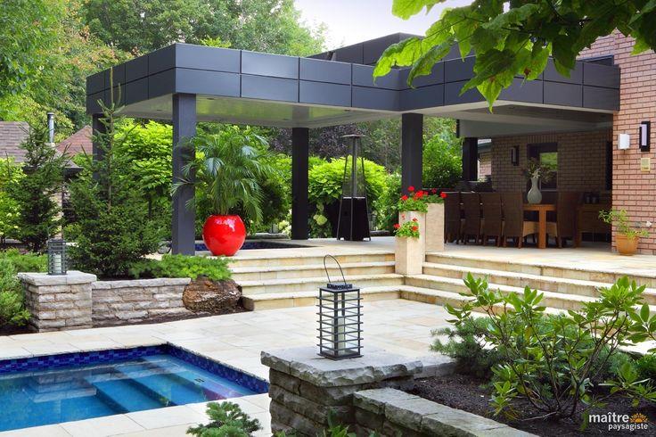 17 Best images about Côté jardin on Pinterest  Decks, Patio design ...