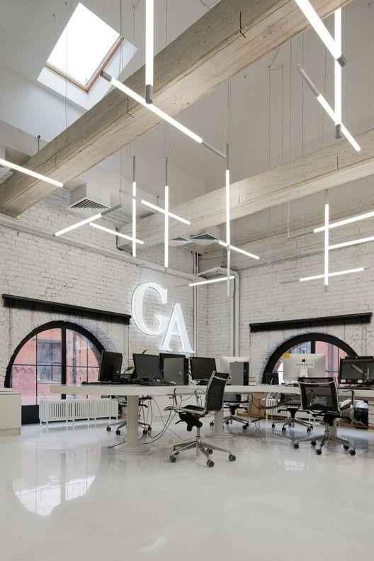 Gazeta.ru News Agency Office / Nefa Architects