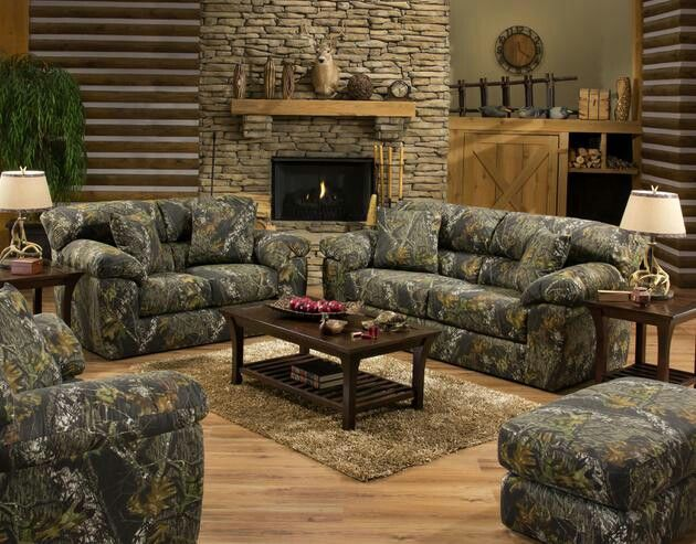 Superb Camo Living Room Home Design Ideas