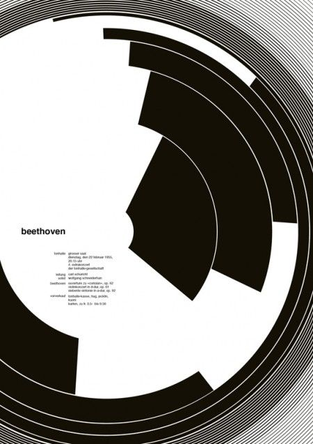 Beethoven - 100 Days with Josef Müller-Brockmann - Jessica Svendsen