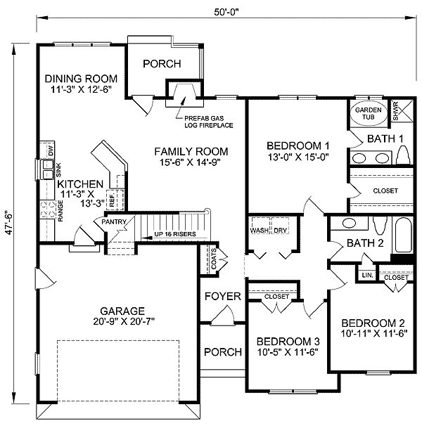 48 best house plans 1400 1600 sft images on pinterest for 1400 to 1600 sq ft house plans