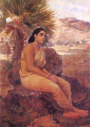 Raja_Ravi Varma_Painting_Sita_VanVas.jpg (356×500)