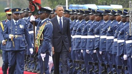 26 JULY 2015 President Barack Obama in Kenya on Saturday cracked a joke about the most famous conspiracy theory that has dogged him since he became commander-in-chief.