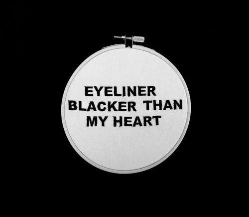 Necessity.. Eyeliner Darker Than My Heart