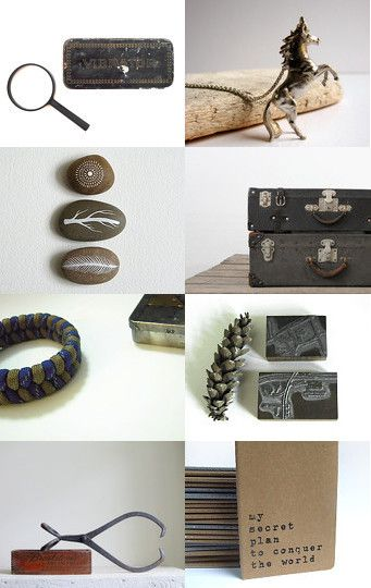 Etsy treasury Owlvision--Pinned with TreasuryPin.com