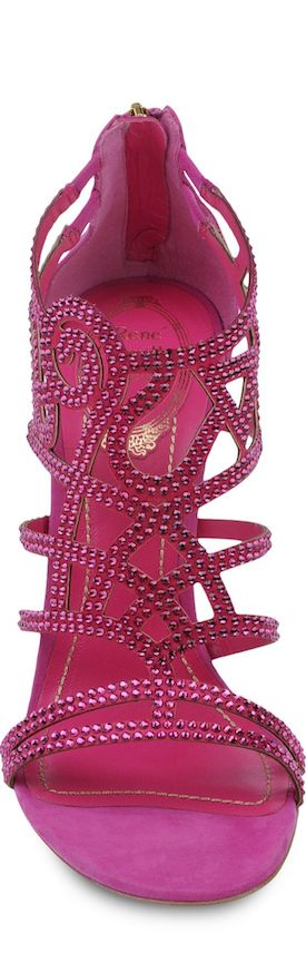 Summer shoes - Rene Caovilla Pink Sandals LOOKandLOVEwithLOLO